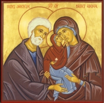 Feast of the Parents of the Blessed Virgin Mary, Anna and Joachim –  Interrupting the Silence