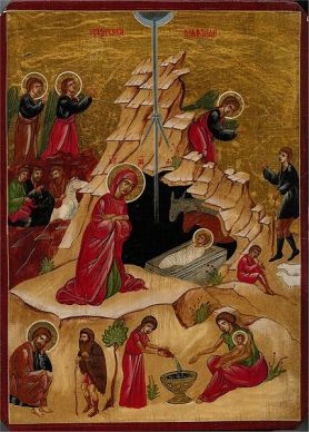 Icon of the Nativity(Source: Wikimedia Commons)