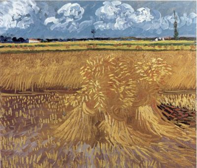 Painting of Wheat Field by van Gogh