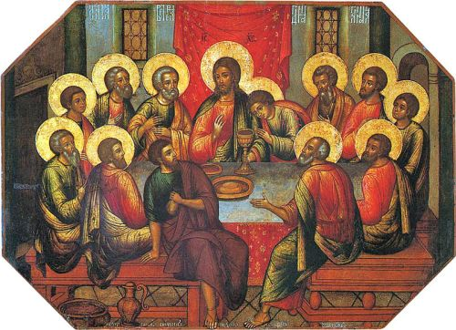 Icon of Last Supper