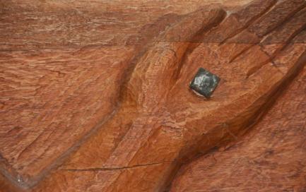 Detail of wooden crucifix