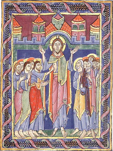 Icon of Thomas touching Jesus