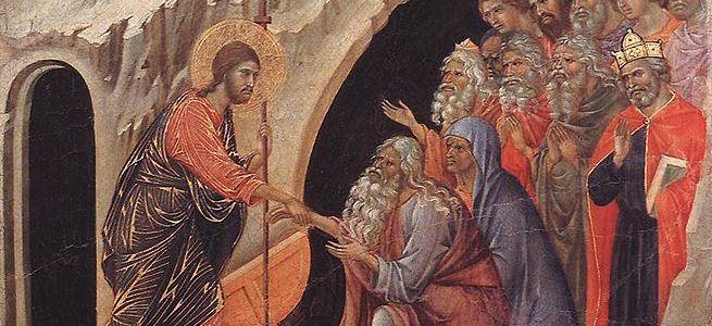 Duccio Di Buoninsegna's Descent to Hell