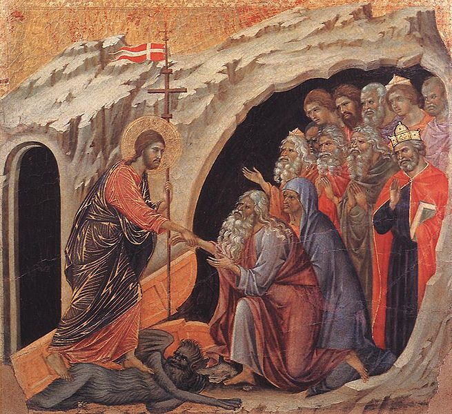 Duccio Di Buoninsegna's Descent to Hell