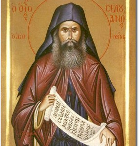 Icon of St. Silouan