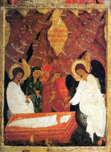 Icon of the Women at the Empty Tomb