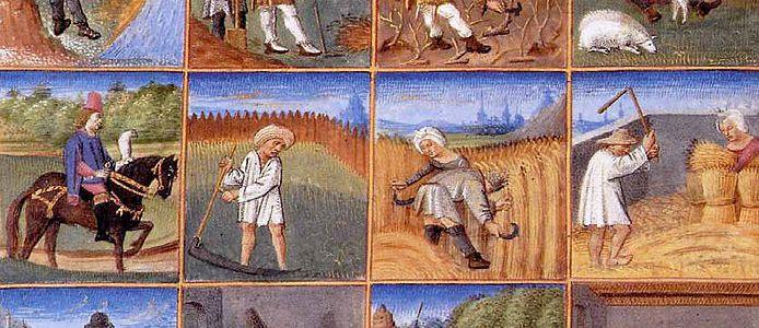 PictureLabors of the Months Calendar