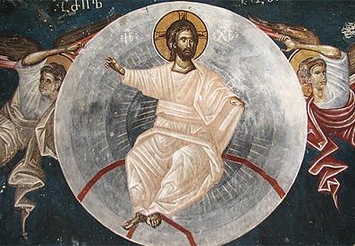 Icon Detail Ascension of Jesus