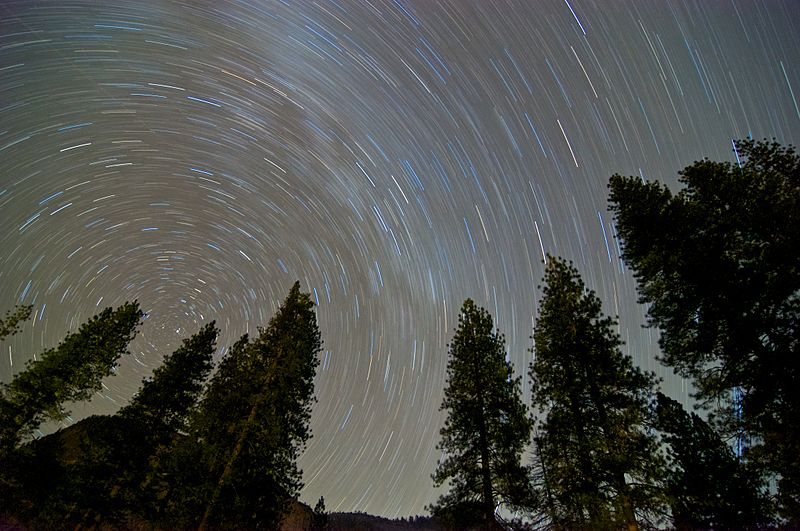 Photograph ofYosemite Night Sky