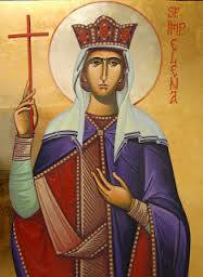 Icon of St. Helena She sought the cross of the crucified. And followed the teaching of Jesus.