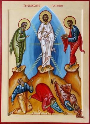 Icon of the Transfiguration of Jesus