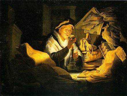 Rembrandt's Parable of the Rich Man