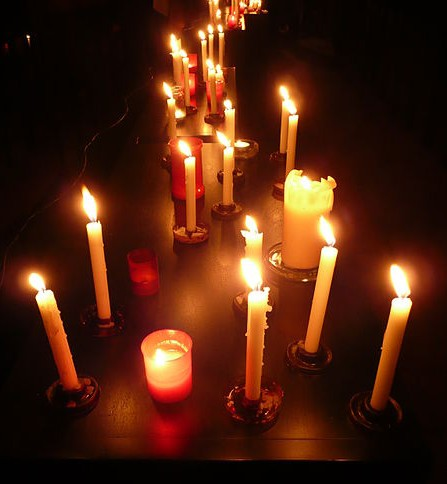 The name u201cCandlemasu201d focuses attention on the candlelight procession that is a part of the liturgy. It became customary to bless not only the candles ... & A Blessing of Candles for the Feast of the Presentation ...
