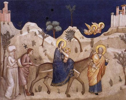 Flight into Egypt (source)