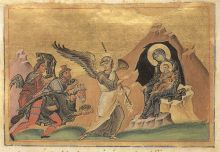 Icon of the Adoration of the Magi (source)
