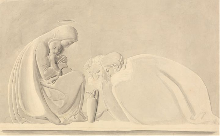 Adoration of the Magi by John Flaxman (source)