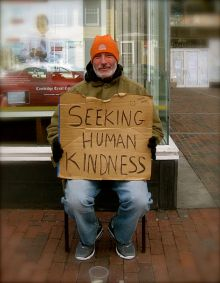 Seeking_human_kindness