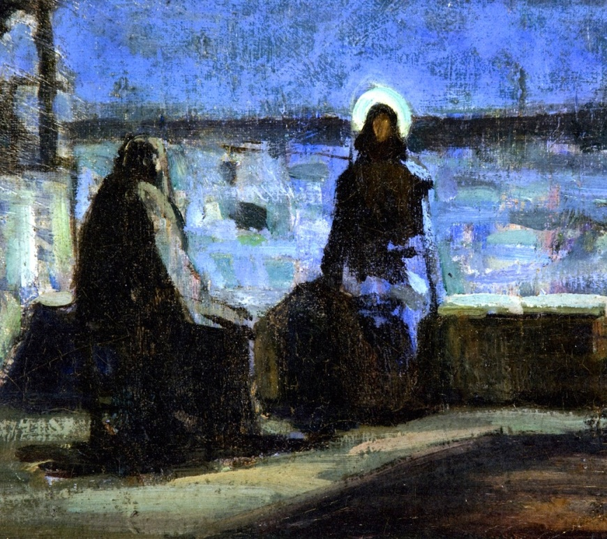 Nicodemus, John 3:1-17, Lent 2A, Born from above, Henry Ossawa Tanner