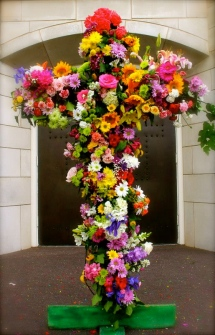 Flowering Cross, Good Friday, Crucifixion of Jesus, Easter, Tree of Life