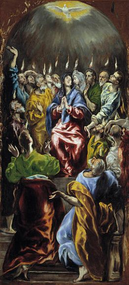 Pentecost, Descent of the Holy Spirit, Acts 2:1-21, El Greco, Sermon, Holy Spirit