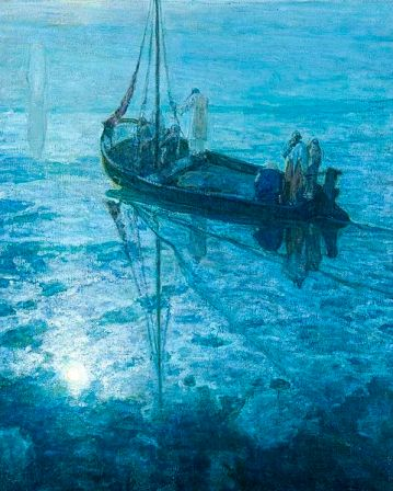 Matthew 14:22-33, Proper 14A, Sermon, Fear, Jesus Walking on Water, Henry Ossawa Tanner