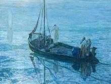 Matthew 14:22-33, Proper 14A, Sermon, Fear, Jesus Walking on Water, Henry Ossawa Tanner