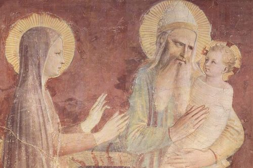 Candlemas, Luke 2:22-40, Blessing Candles, Fra Angelico