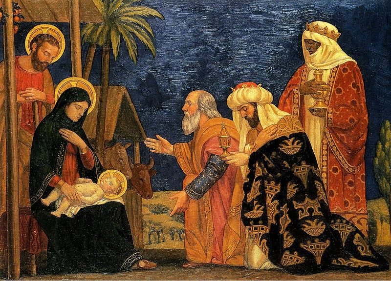 Magi, Adoration of the Magi, Epiphany, Matthew 2:1-12, St. Romanos the Melodist