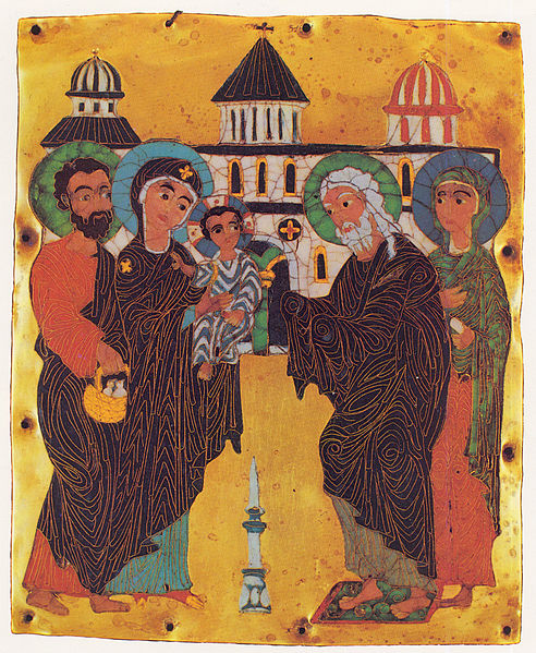 Presentation of Jesus in the Temple, The Purification of Mary, The Feast of Meeting, Candlemas, Blessing, Luke 2:22-40