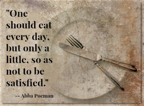 Fasting - Abba Poeman