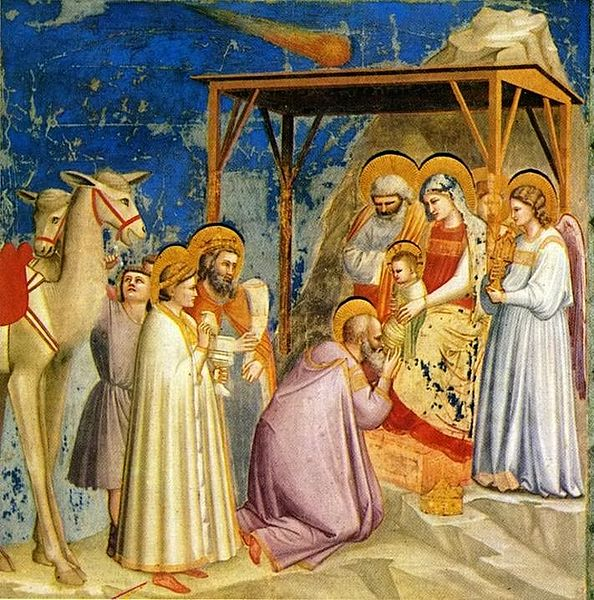 Epiphany, Giotto di Bondone, Adoration of the Magi, Epiphany Proclamation