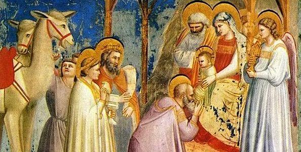Epiphany, Giotto di Bondone, Adoration of the Magi, Epiphany Proclamation