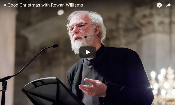 Theology, Christmas, Incarnation, Rowan Williams