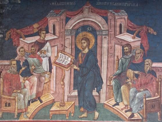 Luke 4:14-21, Sermon, Politics, Epiphany 3C