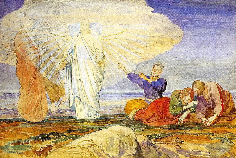 Sermon, Transfiguration of Christ, Luke 9:28-43, Luke 9:28-36, Luke 9:37-43, Beauty