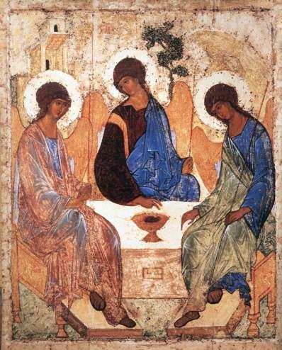 Andrei Rublev, Holy Trinity, Sermon, John 16:12-15