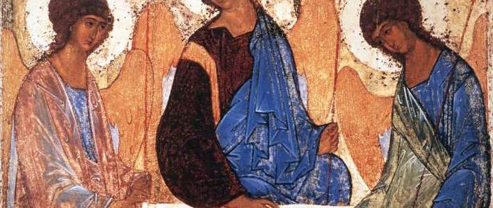 Sermon, John 16:12-15, Holy Trinity, Andrei Rublev
