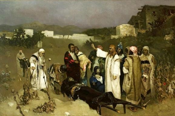 Sermon, Proper 5C, Luke 7:11-17, Widow of Nain, Baptism, Laity, Resurrection