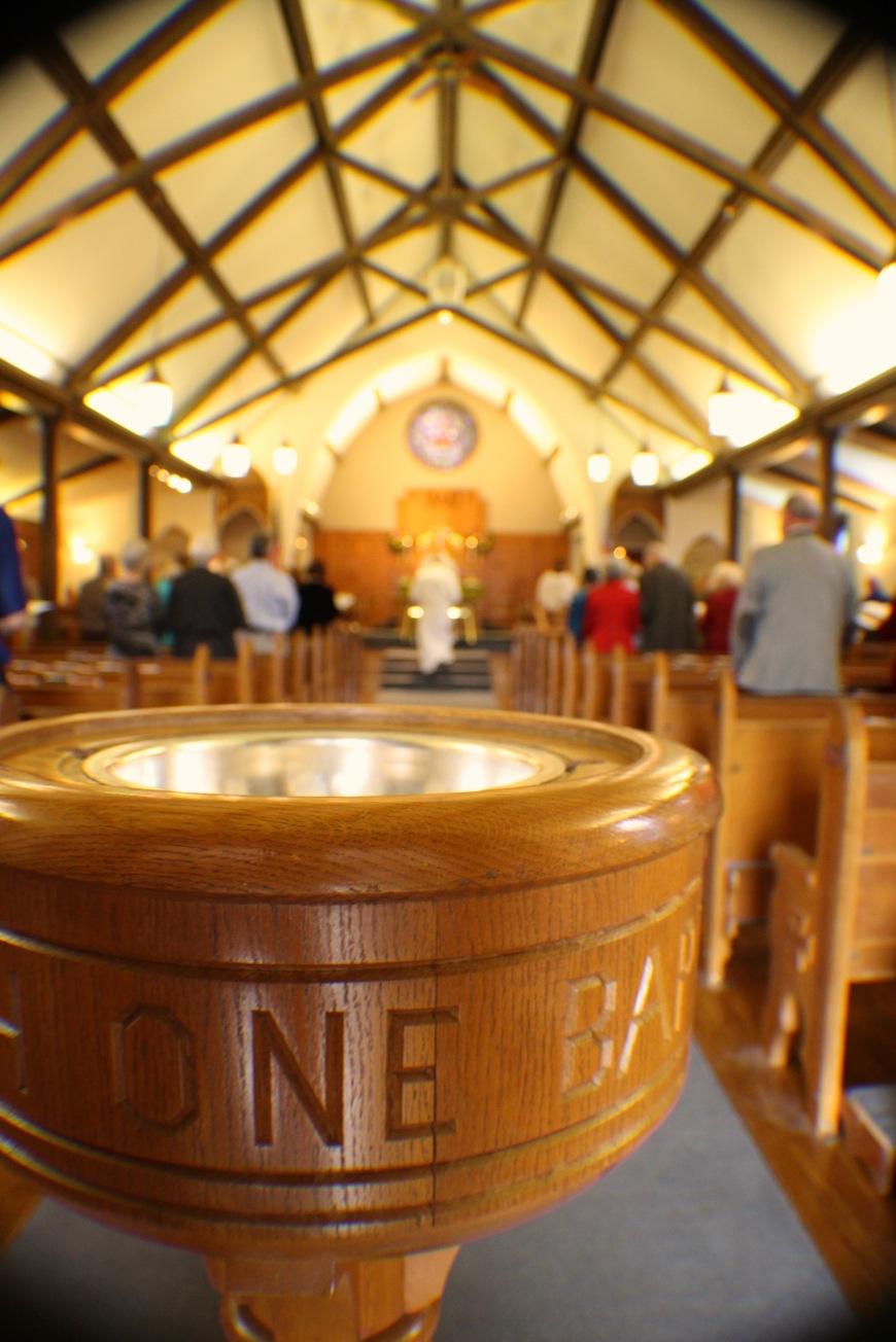 Baptism, Politics, Matthew 24:36-44, United States of America, Isaiah 2:1-4