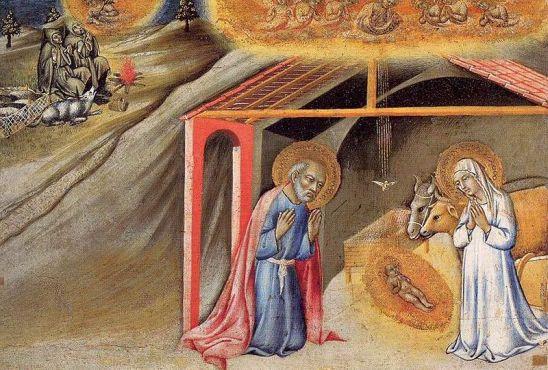 Manger, Christmas, Christmas Eve, Sermon, Luke 2:1-20, Isaiah 9:2-7, Sano di Pietro