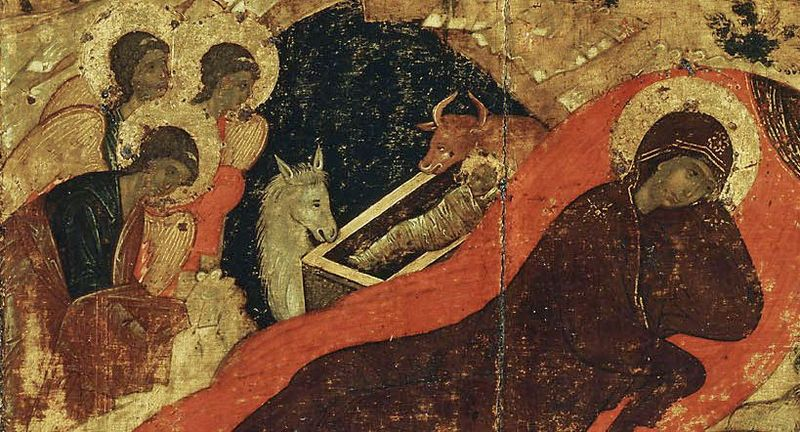 Rublev, Nativity Icon, Isaac the Syrian, Christmas, Ethics