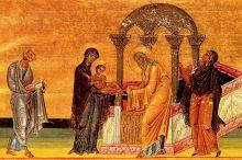 Icon, Luke 2:22-40, Sermon, Presentation of Jesus, Feast of the Presentation, Simeon