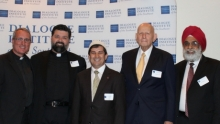 Interfaith, Dialogue and Friendship Dinner, Judaism, Christianity, Islam, Sikh