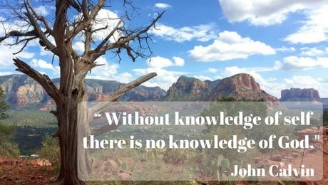 Lent 1A, John Calvin, Self-Knowledge, Self-Denial, Temptation, Matthew 4:1-11, Genesis 2:15-17; 3:1-7, Sermon