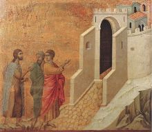 Road to Emmaus, Breaking of the Bread, Resurrection, Easter 3A, Easter, Luke 24:13-35, Life, Death, Jerusalem