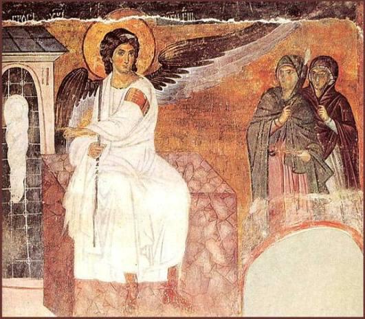 Resurrection of Jesus, Easter, Resurrection, Empty Tomb, Matthew 28:1-10, Myrrh Bearing Women