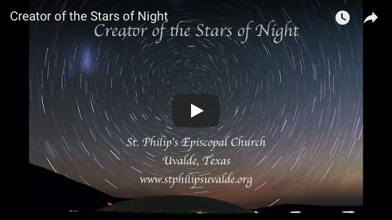 Advent, Youtube, Chant, Music, Video, Creator of the Stars of Night
