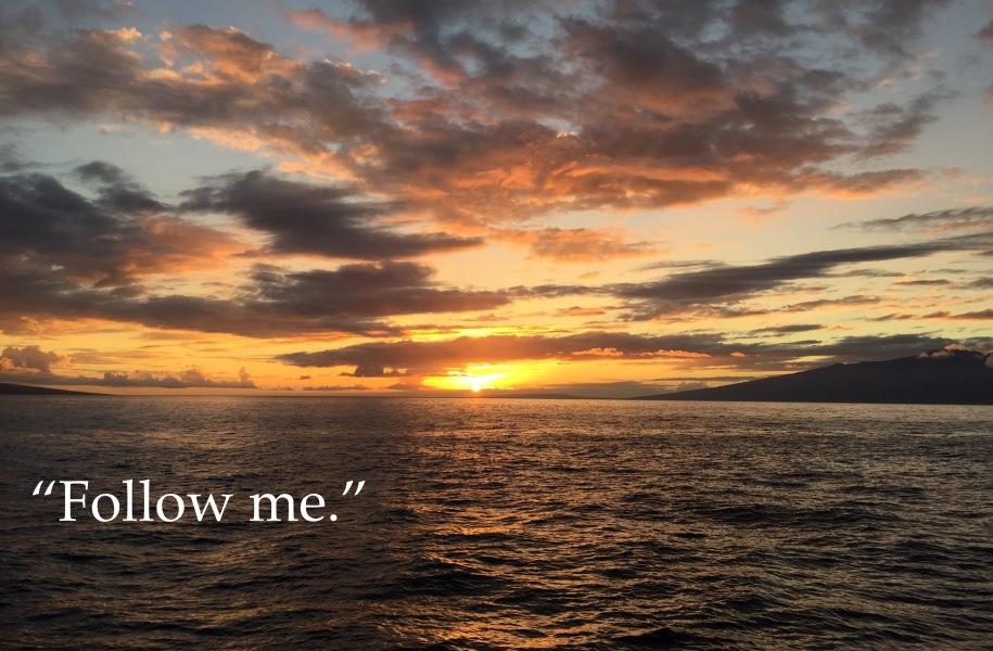 Mark 1:14-20, Sermon, Epiphany 3B, Vocation, Calling, Letting Go, Follow Me,