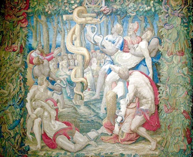 Lent, Lent 4B, Healing, Crucifixion, Snake, Numbers 21:4-9, John 3:14-21,