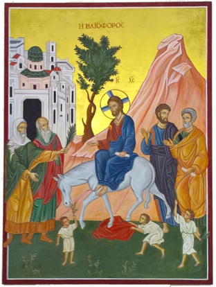 Palm Sunday, Entry into Jerusalem , Holy Week, Mark 11:1-11, Returning the Colt
